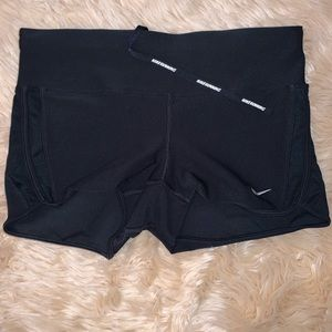 2 Nike dry fit running shorts